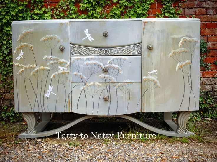 17 best images about painted sideboards decoupage shabby chic distressed french birds flowers. Black Bedroom Furniture Sets. Home Design Ideas