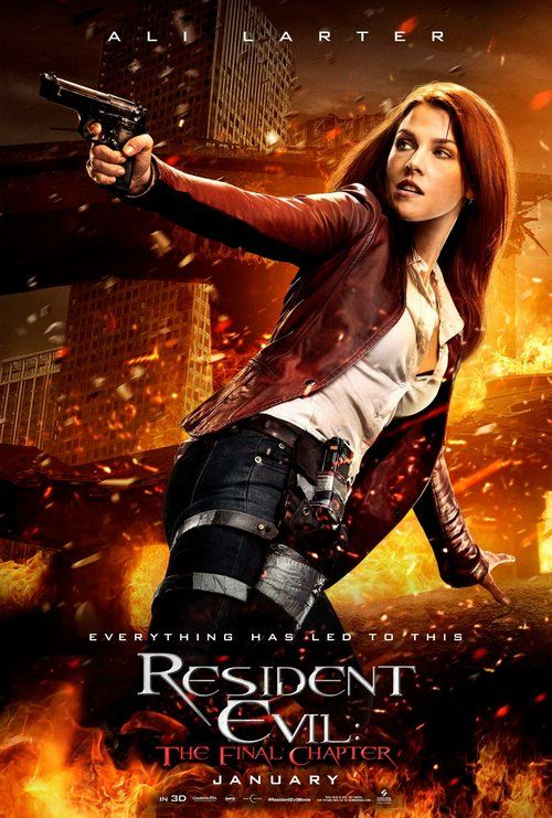 Claire Redfield (Character Poster de Resident Evil: The Final Chapter)