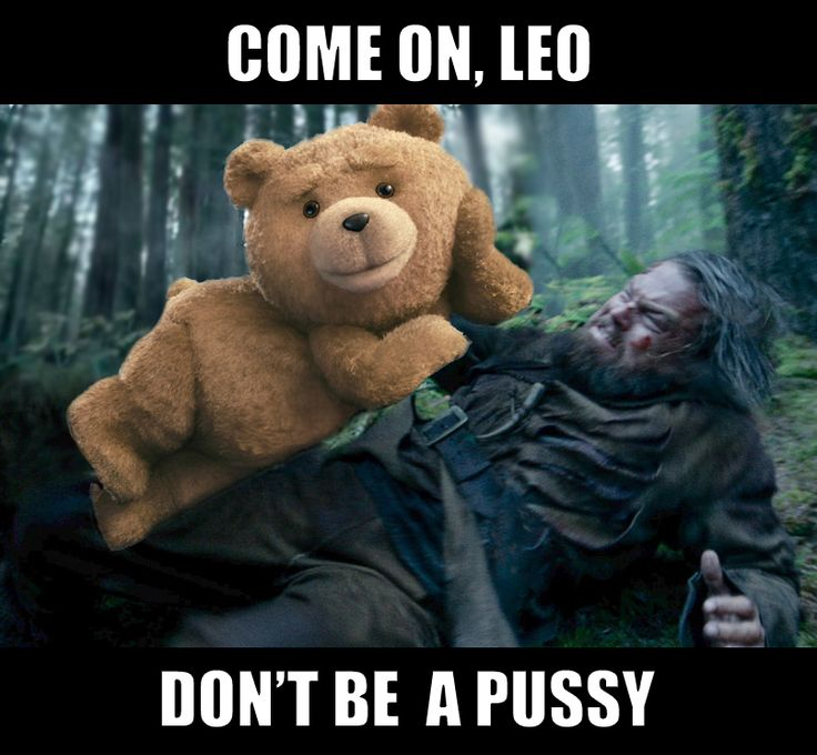 Leonardo DiCaprio bear attacked by Ted. The Revenant.