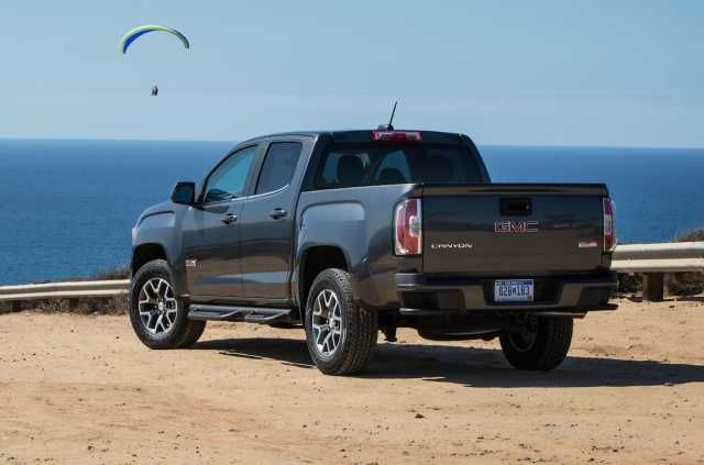 2017 GMC Canyon Rear