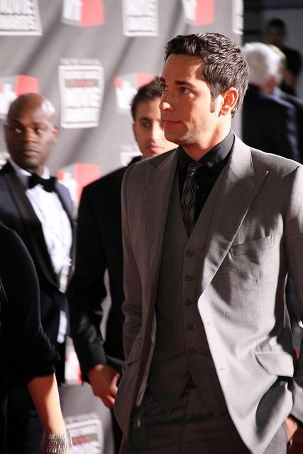 Zachary Levi at Critic's Choice Awards