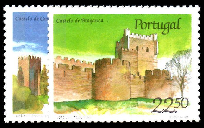 Portugal 1986 Castles (2nd series).