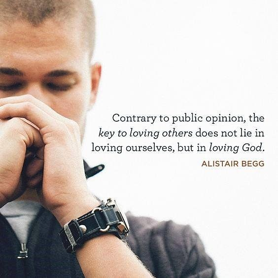 Begg: the key to loving others