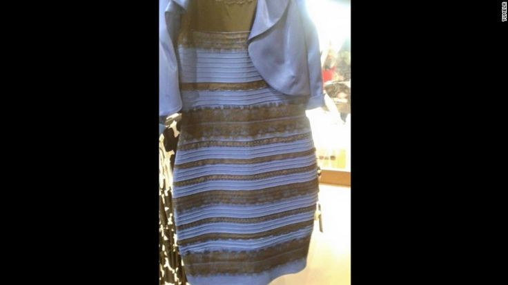 Why Blue Black White Gold Dress Went Viral Opinion The Cafe By Invitation Only Blueblackwhitegold Cafe Dress Kleid Blau Gold Marine Uniform Modestil