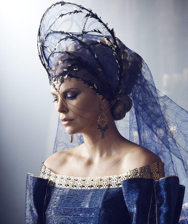 edwardslovelyelizabeth: Charlize Theron photographed by Charlie Gray on set of…