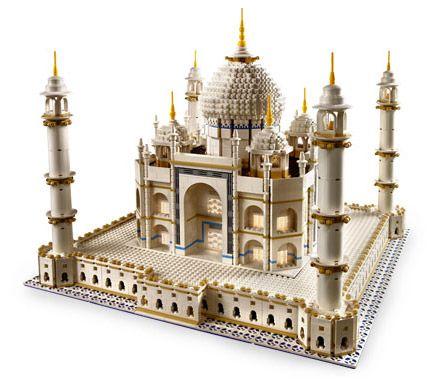 Amazing Lego Creations - Lego Taj Mahal