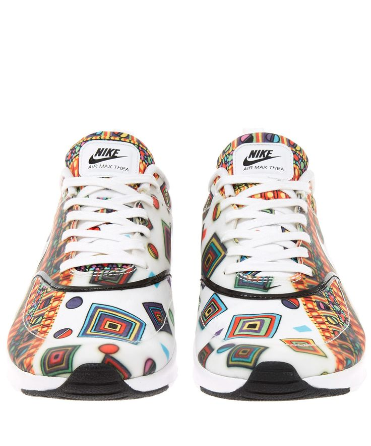 Nike X Liberty White Merlin Air Max Thea Trainers