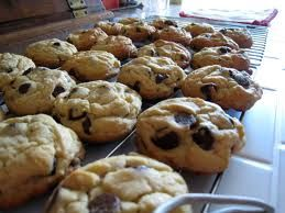 Chocolate Chip Cookies (they taste just like Otis Spunkmeyer cookies)