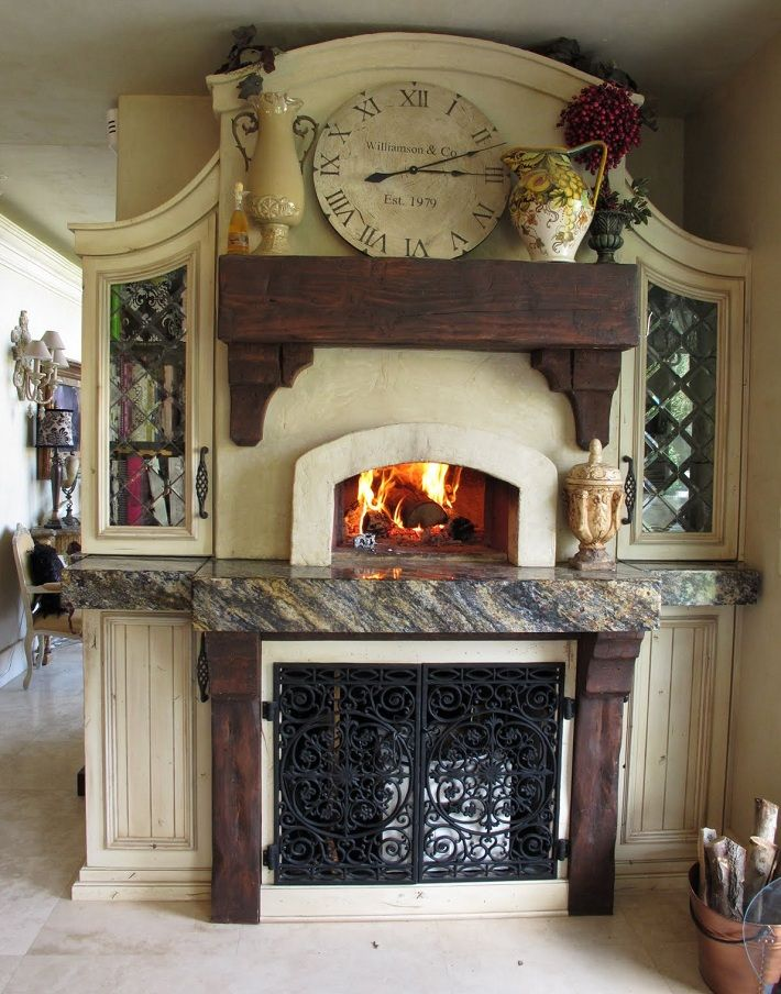 Indoor Pizza Oven · Kitchen FireplacesOutdoor ...