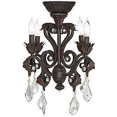 4 Light Oil Rubbed Bronze Chandelier Ceiling Fan Light Kit. Kronleuchter  DeckenventilatorenDeckenventilator ...