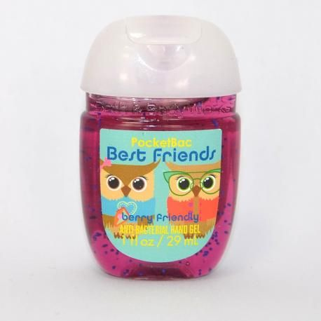 Gel antibactérien BEST FRIENDS BERRY FRIENDLY Bath and Body Works Us Pocketbac