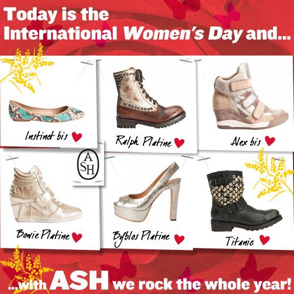 Oggi è la #festainternazionaledelladonna e con #Ash si festeggia tutto l'anno!
