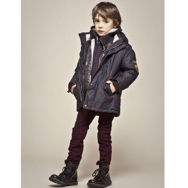 Mode enfant : 15 looks IKKS casual chic pour petits garçons : La parka de chez IKKS - Maman Plurielles.fr