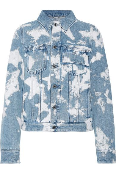 Givenchy - Bleached Denim Jacket - Light denim