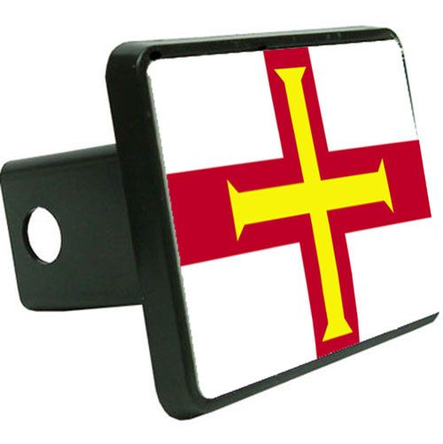 Guernsey Flag Trailer Hitch Cover