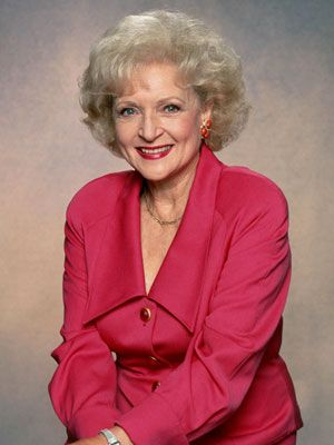 I really love Betty White and she is truly an inspiration to me. She is an remarkable women.
