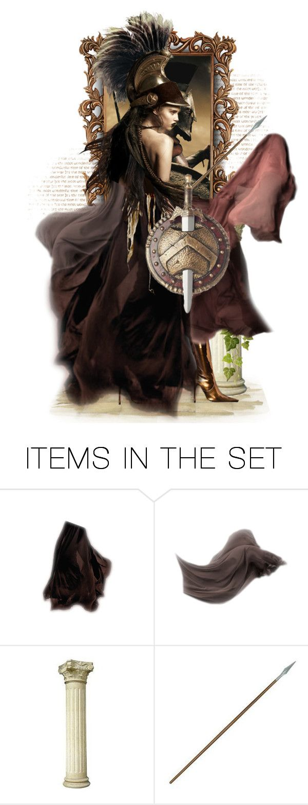 """""""Gorgo, Queen of Sparta"""" by sophisticatedignorance21 ❤ liked on Polyvore featuring art"""