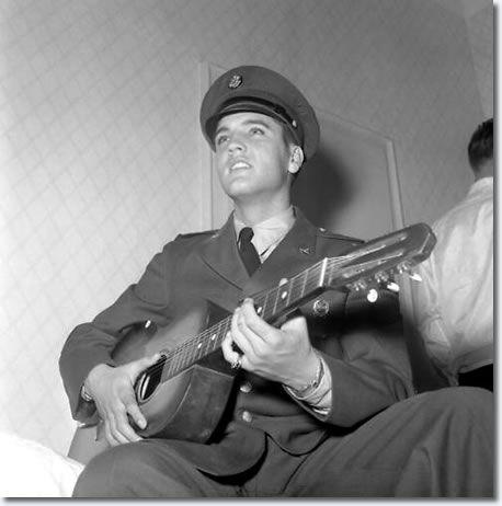 Elvis Presley : Ritters Park Hotel, Bad Homburg, Germany : First weekend Of October 1958.