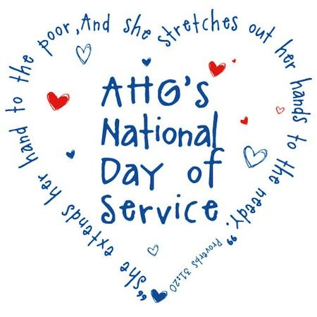 American Heritage Girls -- Its national day of service is the third saturday of September.