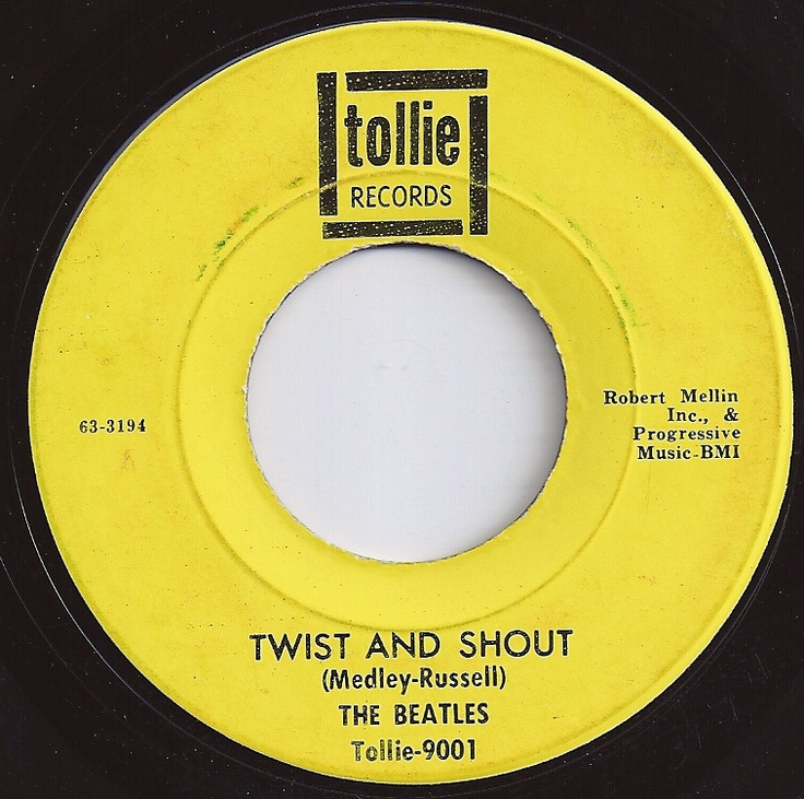 Twist And Shout Beatles 2 On Billboard 1964 45 Rpm