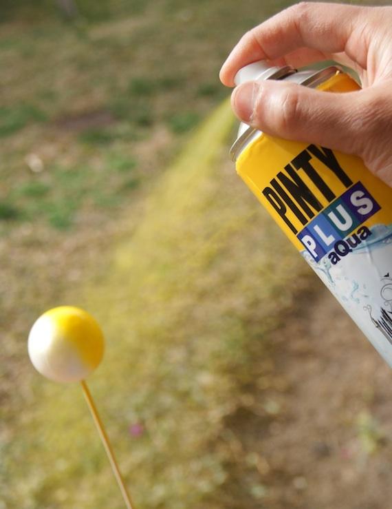 pintura pinty plus aqua para pintar sobre poliestireno expandido