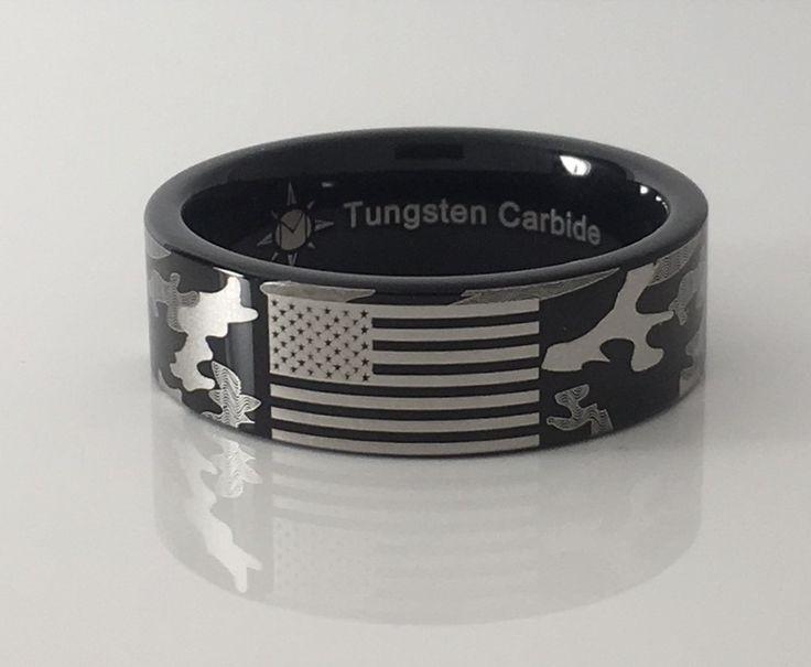 Custom Flag/Camo Ring