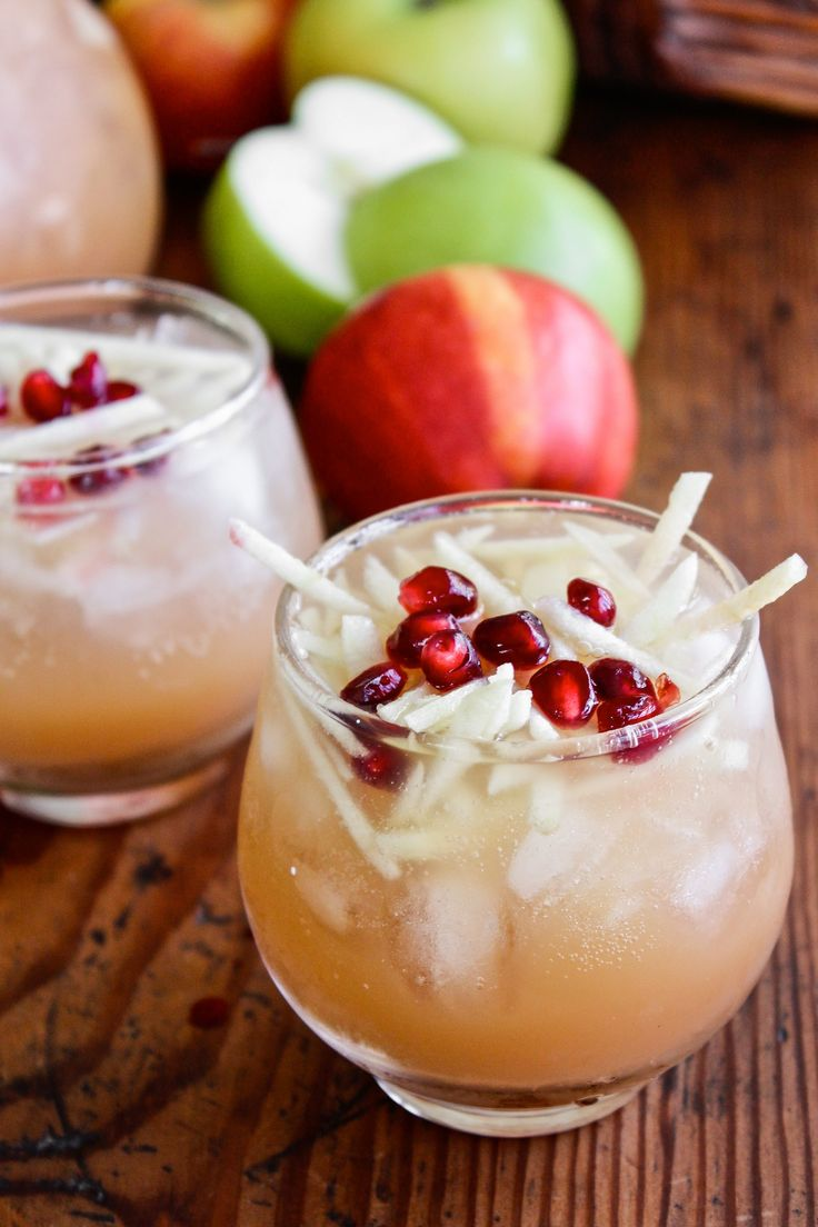 Pitcher Cocktail Recipe: Sparkling Apple Cider Sangria — The 10-Minute Happy Hour