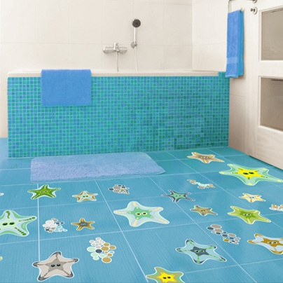 79 best images about kids bath deco on pinterest kids - Suelos vinilicos infantiles ...