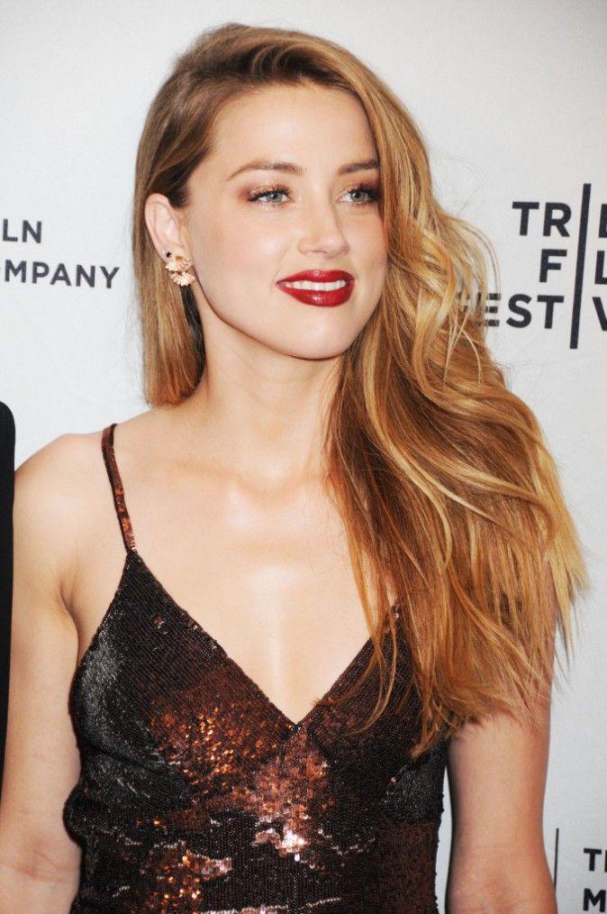 Photos : Amber Heard : une beauté scintillante au Tribeca Film Festival !