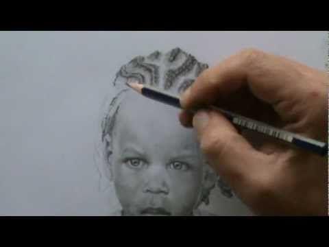 How to draw Face Hair Cornrows Dreadlocks