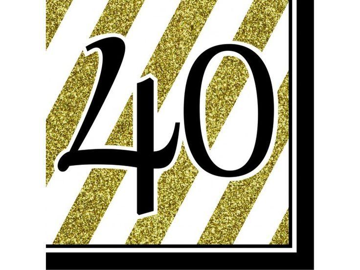 Que la crisis de los 40 no te amargue la fiesta. Decora tu cumple bien chulo con estas servilletas tan chulas, y el montón de artículos más que hemos traído para entrar en los 40 con buen pie!  #cumpleañosadultos #cumpleaños40 #40cumpleaños #40aniversario #cumpleaños #decoracionfiestas #decoraciondefiestas #chiquiparty #globos40cumpleaños