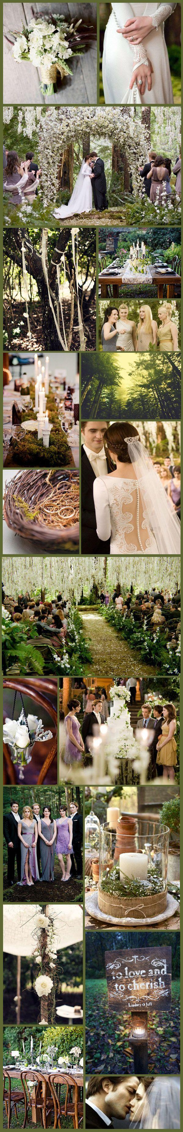 Wednesday Wedding Inspiration: Twilight Time