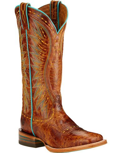 Ariat Vaquera Cowgirl Boots - Square Toe  - Country Outfitter