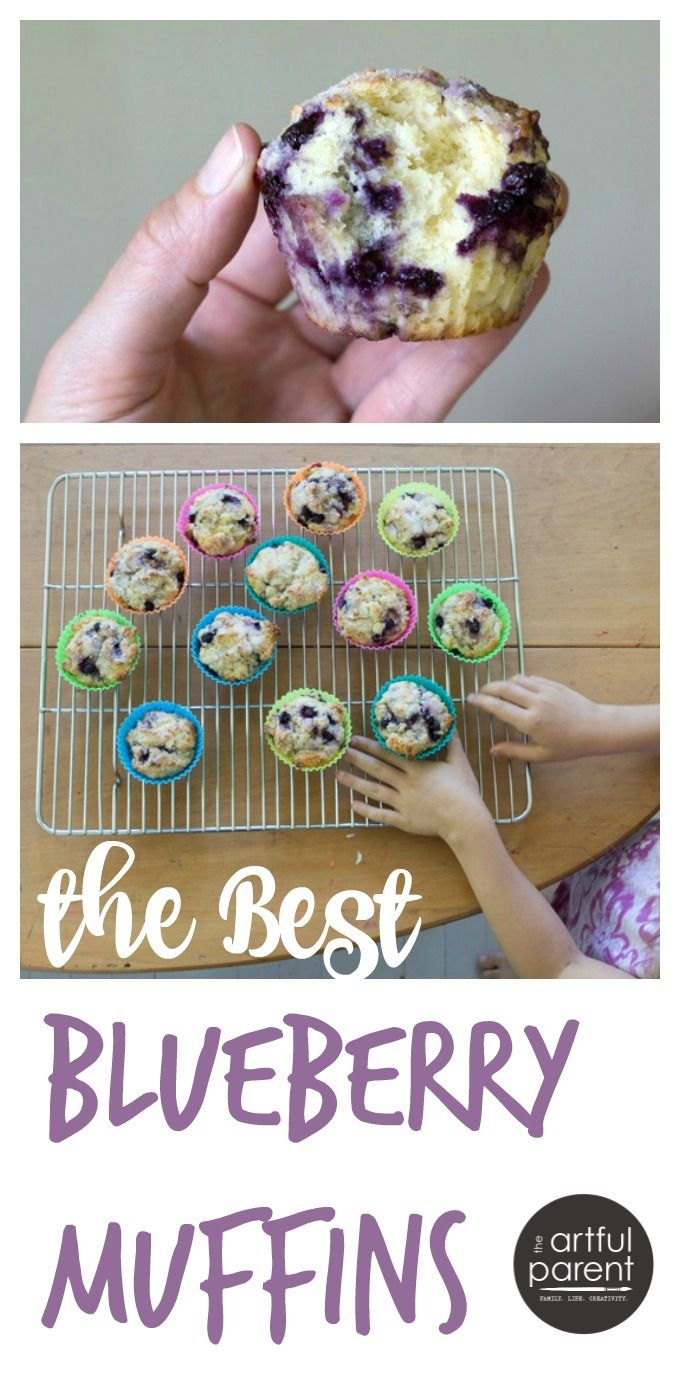 Yum! These lemon-blueberry muffins are seriously the best blueberry muffin recipe we've tried!