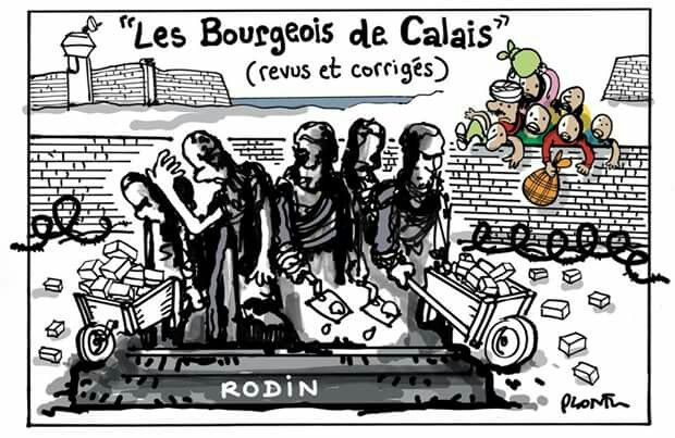 1000 images about caricatures migrants de la mer for Dessin mur