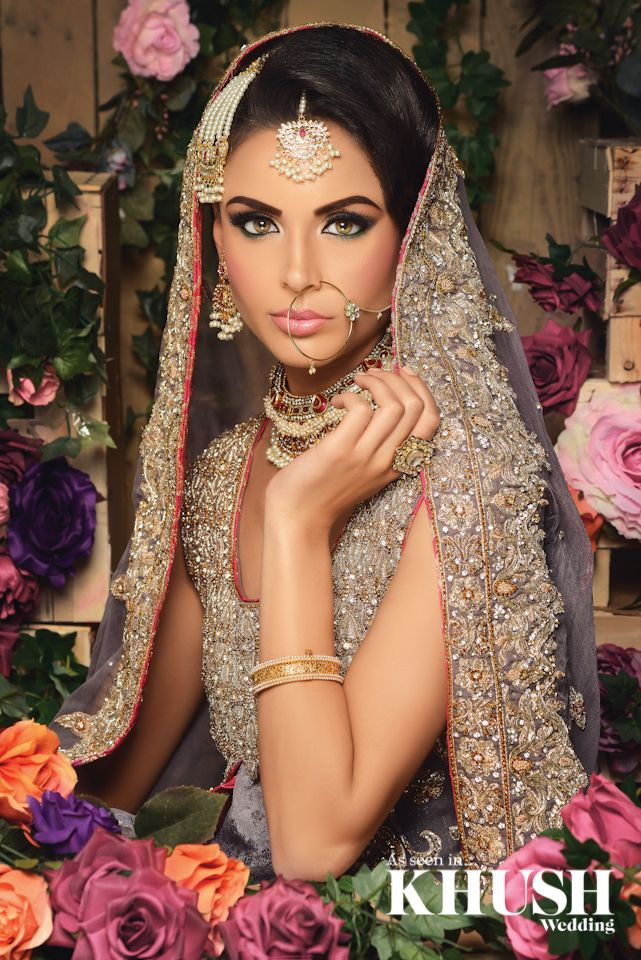 #flawless bridal hair and makeup by Reshma Make-up Artist​  LONDON BASED • NATIONWIDE COVERAGE +44(0)7720 981 176 info@reshmamakeup.com www.reshmamakeup.com  Outfit: Brocade London - By Sarah​ Jewellery: Anees malik​
