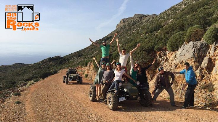 Check out this unique buggy safari experience, through some amazing off road picturesque destinations around Chania Crete! Simply awesome! http://www.ontherocks.tours/