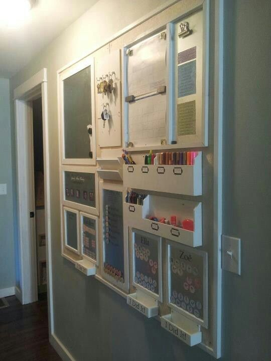 Home Office Wall Organizer 776 best family command center images on pinterest | kitchen