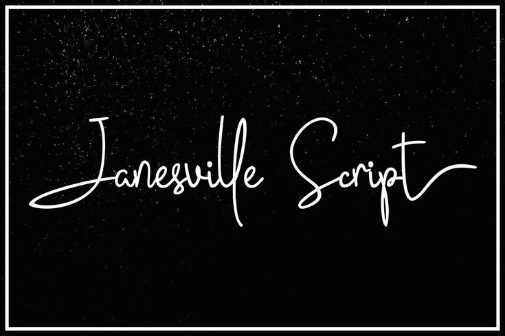 Janesville Script (50% Off) - Script Like Save Janesville Script (50% Off) - Script - 1 Janesville Script (50% Off) - Script - 2 Janesville Script (50% Off) - Script - 3 Janesville Script (50% Off) - Script - 4 Janesville Script (50% Off) - Script - 5 Janesville Script (50% Off) - Script - 6 Introducing the new handwritten stylish fonts Janesville Script, perfect for creating authentic hand-lettered text with a dancing baseline, classic and elegant touch.