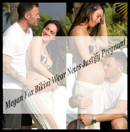 (megan-fox-bikini-wear-news-justify-pregnant)