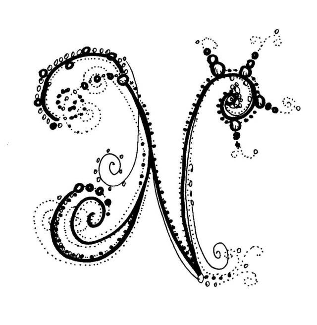 Fancy Letter j | Click on thumbnails for full view ...