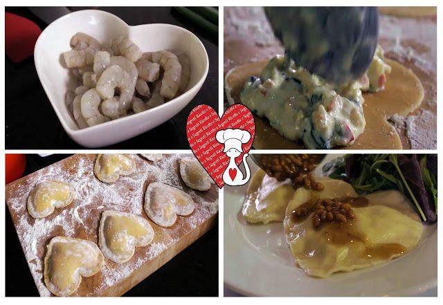 Ricette e Segreti in Cucina : Ricette San Valentino  Ravioli al profumo di limon...