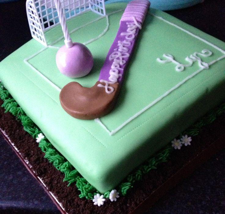 hockey pitch  field  english hockey  birthday cake