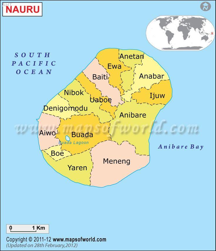 Nauru Map - http://allholidaytips.com/nauru-map/