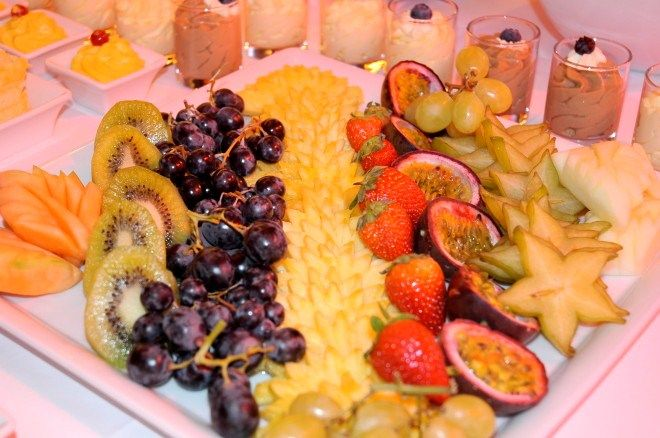 Zurich #Marriott Hotel - #Fruit Platter White Elephant Restaurant