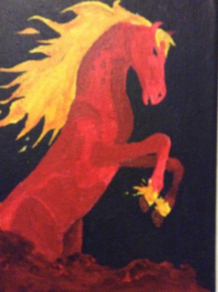 Four horses of the apocalypse: War