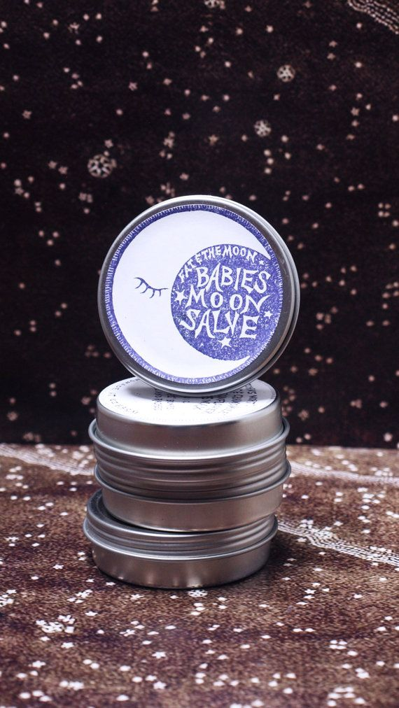 Babies Moon Salve by FatandtheMoon on Etsy, $12.00