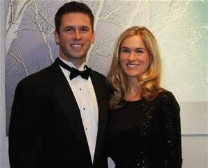 Buster Posey #Giants and his wife Kristin