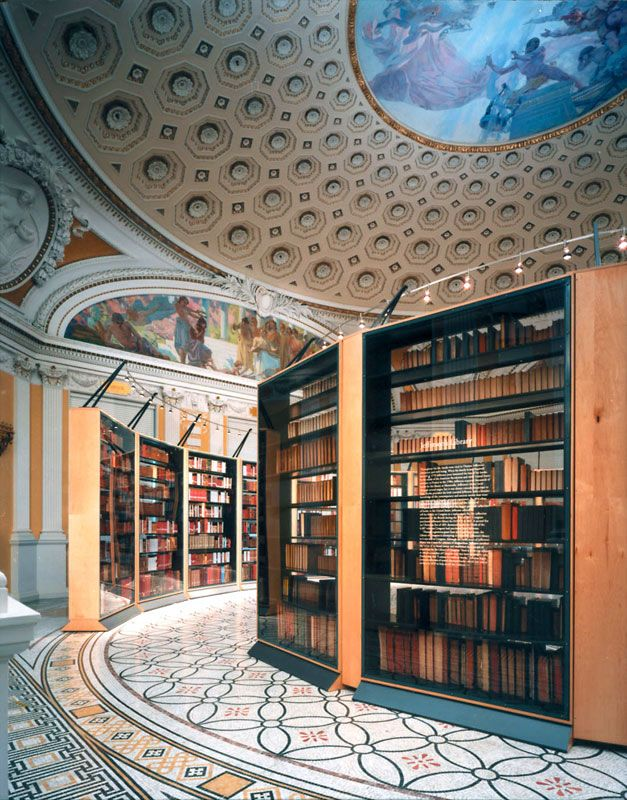 Thomas Jefferson's library recreated at the Library of Congress.