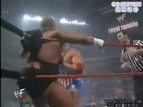 Tazz Vs Kurt Angle Royal Rumble 2000